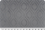Embossed Marquise Cuddle Gray