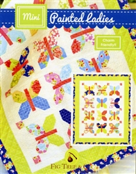 Mini Painted Ladies Quilt Pattern by Fig Tree Quilts
