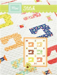 Mini Stitch Quilt Pattern by Fig Tree Quilts