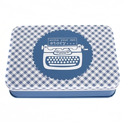 Denim Sewing Tin By Lori Holt Bee in my Bonnet