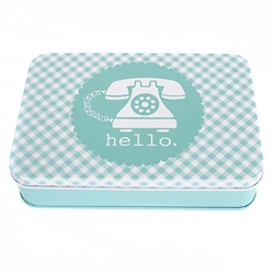 Aqua Sewing Tin By Lori Holt Bee in my Bonnet