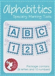 Blue Alphabitties by It's Sew Emma