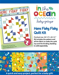 Here Fishy Fishy Quilt kit