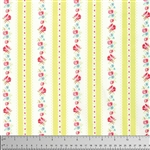 Lola Lola Garden Ticking Yardage - Yellow