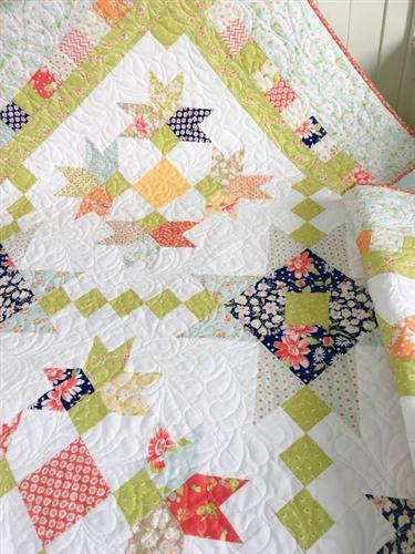 Purely Petals Coney Island Quilt Kit