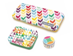 Tin Quilt Blocks Moda Set of Three
