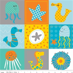 In the Ocean Friends Gray Yardage