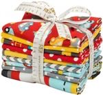 Ready, Set, Go! Retro Fat Quarter Bundle