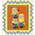 Despicable Me 1 in a Minion Quilt Kit