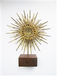 William Bowie Vintage metal sculpture Starburst