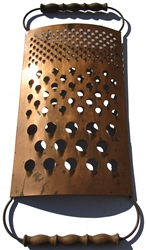 Jere kitchen Vintage metal sculpture Grater