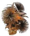 C. Curtis Jere 1960's Spore Urchin table sculpture