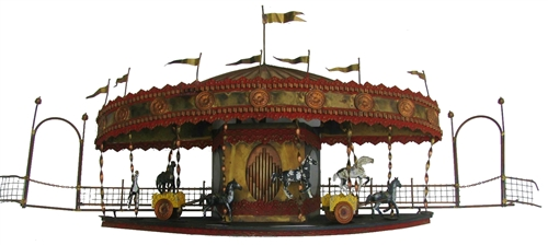 SOLD - Curtis Jere - signed twice - Merry Go Round
