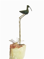 Curtis Jere Sandpiper Free Standing Sculpture