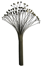 jere tree Vintage metal sculpture