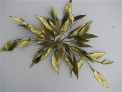 floral Vintage metal sculpture
