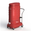 Ruwac RED RAIDER 220VOLT 280CFM 3 MOTOR VACUUM WITH SILENCER, WITHOUT HEPA