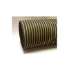 "Nikro 860415 - 10"" x 25' Heavy Duty Black & Yellow Flex Duct"