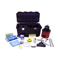RRP Complete Compliance Kit by Nikro. This handy kit assures that you and your employees always have the equipment and supplies which you need to help keep you compliant to the EPA RRP Rule. These supplies and equipment come in a rolling tool box with a k