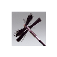 "Nikro 862049 - 4"" Round Nylon Button Brush"