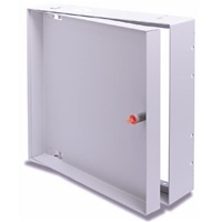 "The Acudor AT-5020 recessed access door is designed for flush installation in walls or ceilings when it Is required to conceal the door panel, which is recessed 1""."