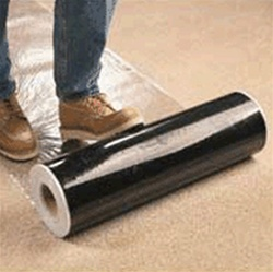 "48"" X  500' CLEAR Carpet Protection Film"