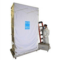 Mintie ECU2 Containment Bundle - RENTAL- Dust cart, dust buggie, environmental containment cube. rent aire guardian, ecu3, hospital icra rental, cable installation dust rental, dust buggy