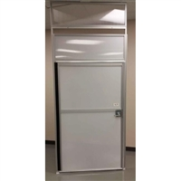 "36"" Panel with 32"" Door - Lever Style Lockset"