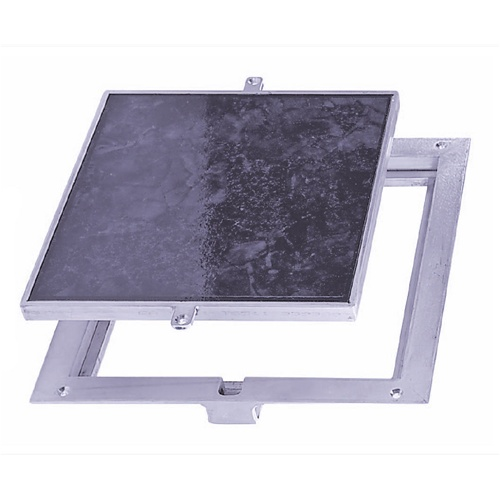FT-8080 Non Hinged: Floor Doors - Panel Recessed 1/8\