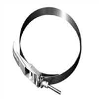 "10"" diameter locking clamp for flex duct attachment, 1/cs."