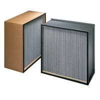 BioMAX HEPA 99.97% High Efficiency Steel 	30x24x5 7/8