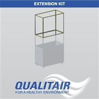 "Qualitair 48"" Clear Vinyl Extension for HEPAZone"