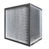 99.99% HEPA Filter Metal Frame 23 3/8 x 23 3/8 x 11 1/2 Glasfloss Magna 1100 Series