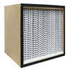 99.97% HEPA Filter Wood Frame 24 x 12 x 11 1/2 Glasfloss