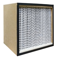 99.97% HEPA Filter Wood Frame 24 x 30 x 11 1/2 Glasfloss