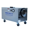 OMNIAIRE MF100 HEPA Negative Air Machine, MINIFORCE II HEPA negative air machine is ideal for small containments and projects with difficult or limited access. It is used in hospitals, onboard ships, crawl spaces, attics, residences and many other projec