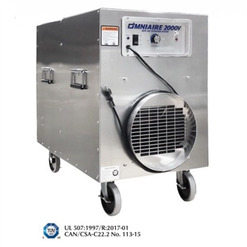 OMNIAIRE OA2000VBF Negative Air Machine