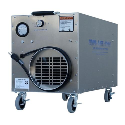 Omniaire Oa600v Hepa Negative Air Machine Omniaire Oa600v