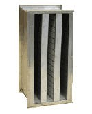 "For use with OA2200UL:  CarbonVapor Trap, disposable V-Bank filter with 36 lbs. of carbon, size 24""x24""x12"" (stand alone)"