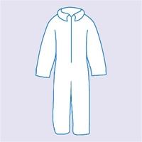 Suntech Protective Coverall, Zipper Front, White - Case of 25 Suntech is a spunbonded polypropylene material reinforced by a nylon scrim core and laminated to Sunrise's new microporous film to provide a superior combination of high tensile strength, barri