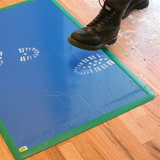 safety p blue pad cleanroom per quot mats pads sheets case tacky