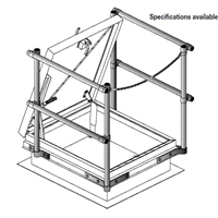 Wb Guard Railing System For Roof Hatch