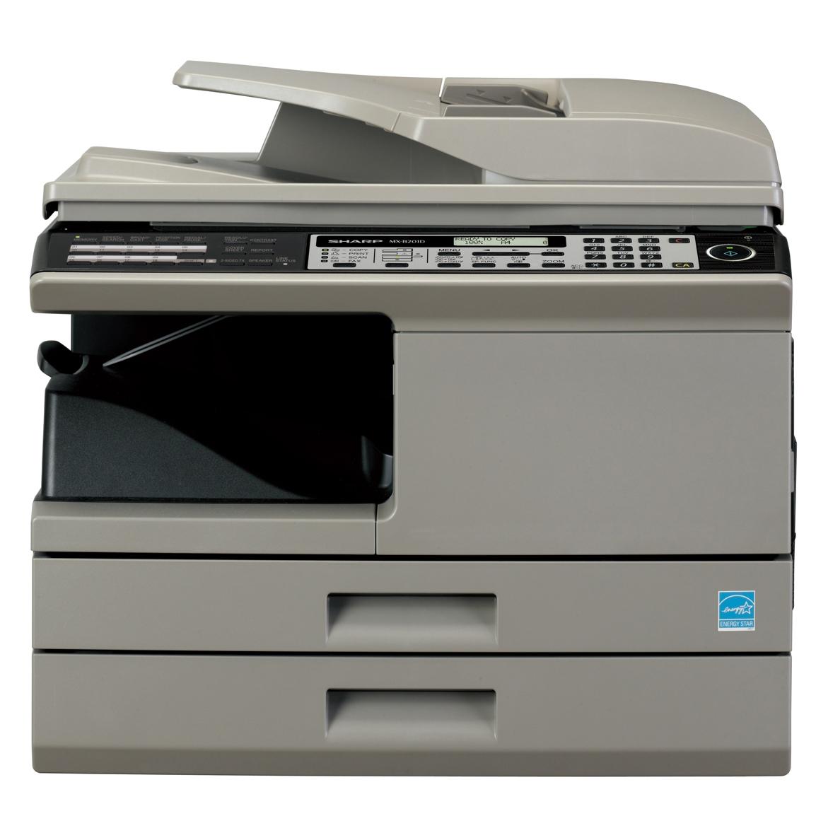 Sharp MX-B201D Printer FAX Drivers for Windows Mac
