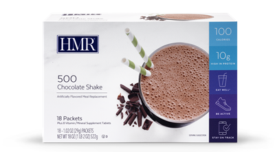 HMR® 500 Weight-Loss Shakes: Chocolate (18 packets)