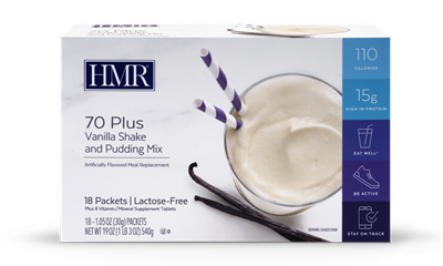 HMR® 70 Plus Lactose-Free: Vanilla (18 packets)