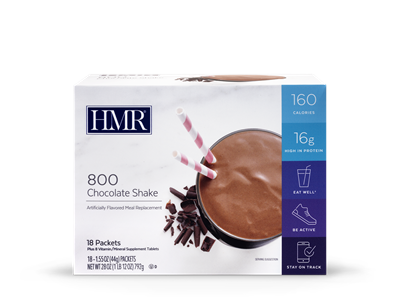 HMR® 800 Weight-Loss Shakes: Chocolate (18 packets)