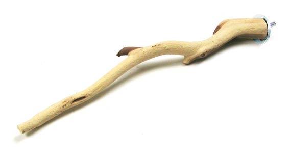 Single Bird Perch Sandblasted Manzanita