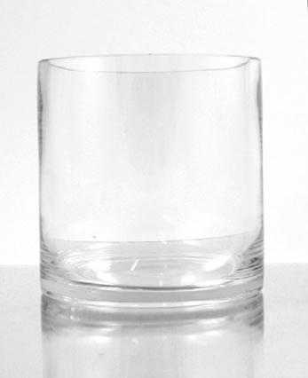 Glass Cylinder Vase 3 X 3