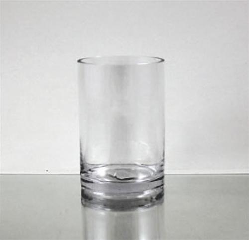 Glass Cylinder Vase 6 X 4