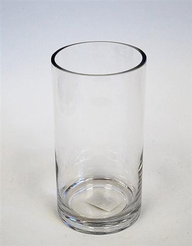 Glass Cylinder Vase 8 X 4